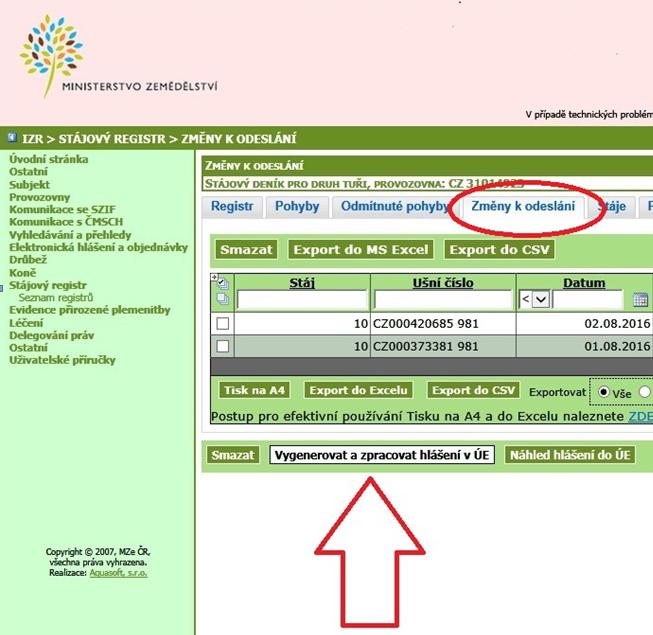 Integrovaný zemědělský registr